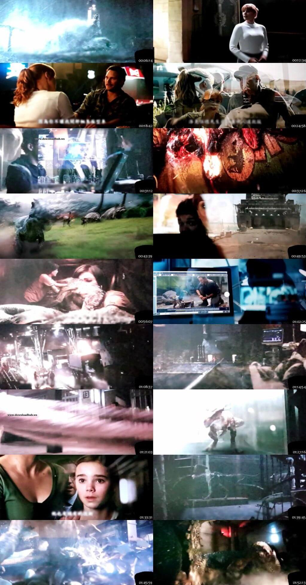 Jurassic World Fallen Kingdom (2018) 720p HDCAM Dual Audio [Hindi(Cam) + English] x264 Full Movie Free Download HD