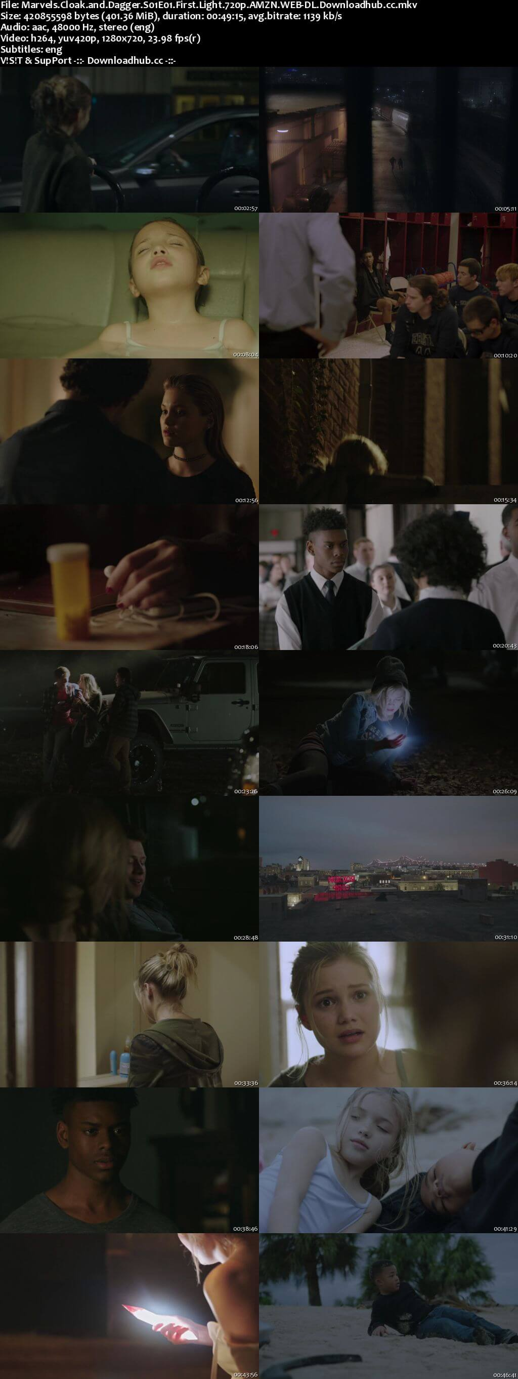 Cloak & Dagger S01E01 400MB WEB-DL 720p ESubs
