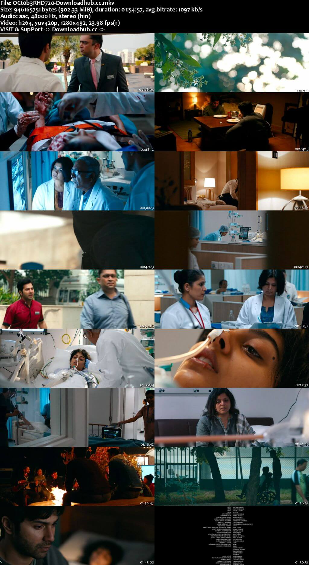 October 2018 Hindi 720p HDRip