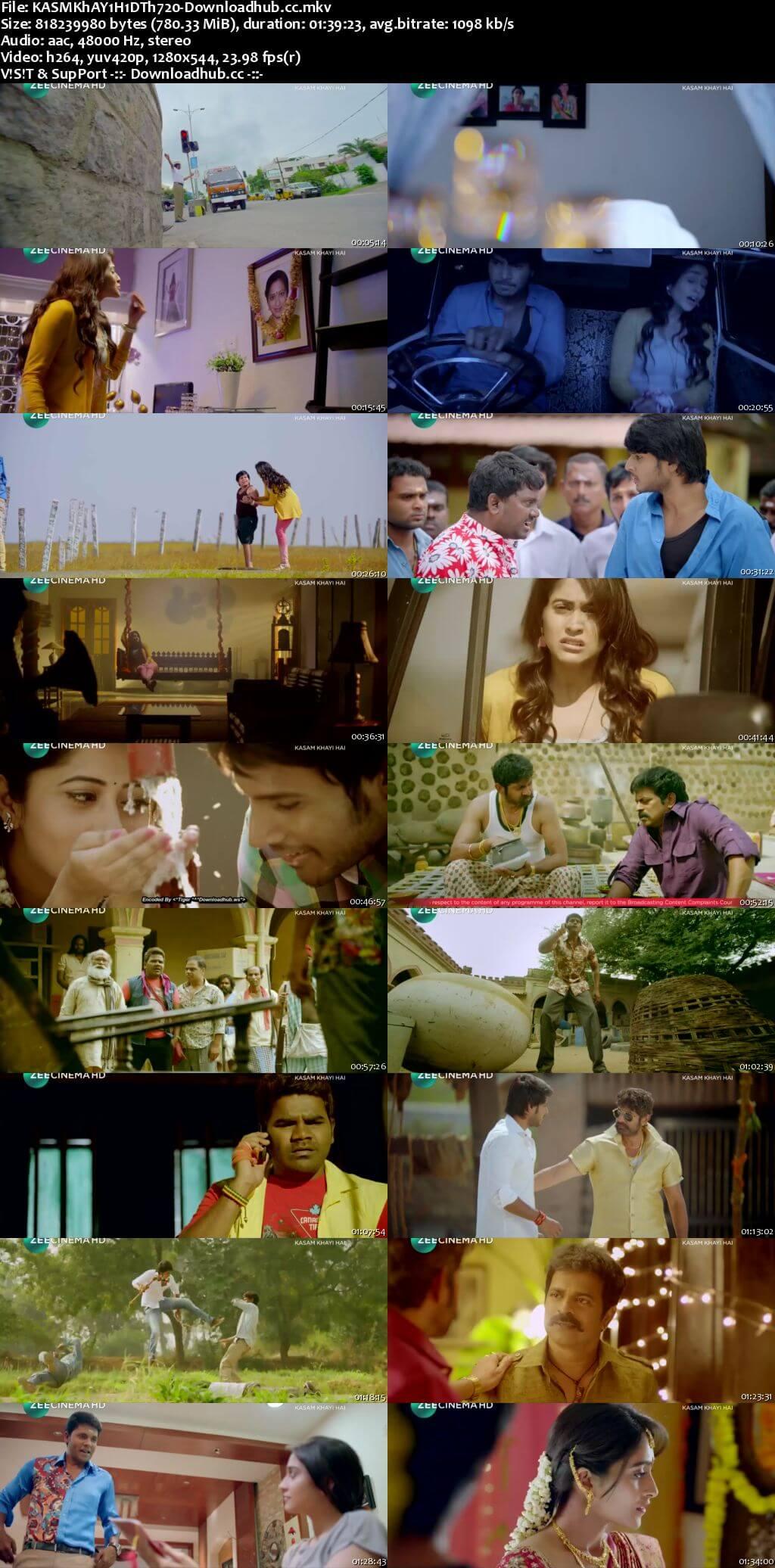 Kasam Khayi Hai 2018 Hindi Dubbed 720p DTHRip