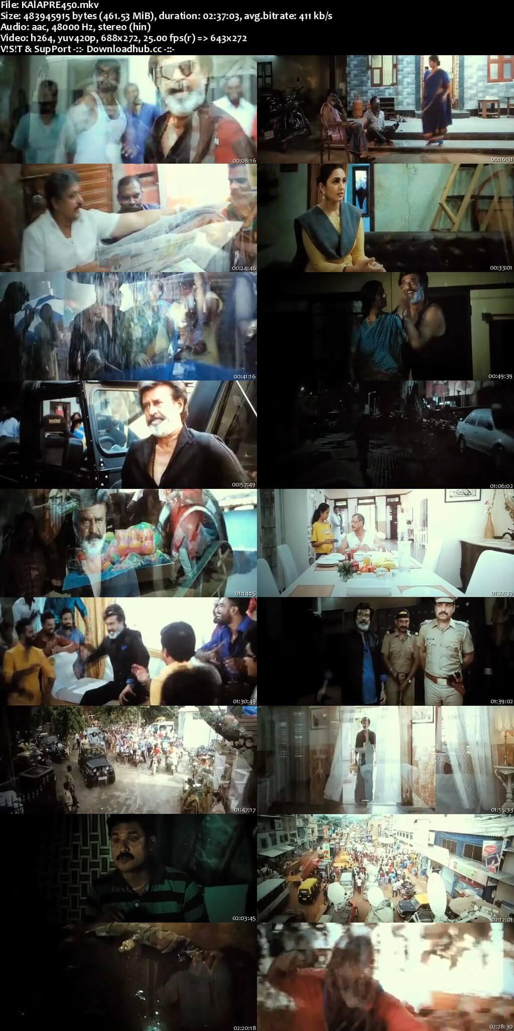 Kaala 2018 Hindi 480p Pre-DVDRip