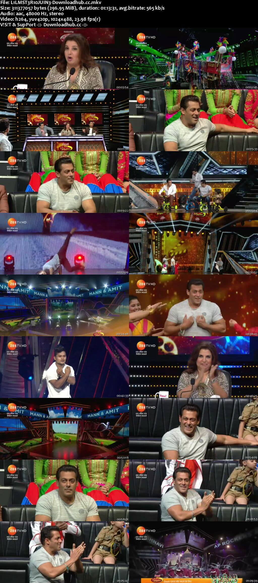 DID Li'L Masters Season 4 10 June 2018 Episode 29 HDTV 480p