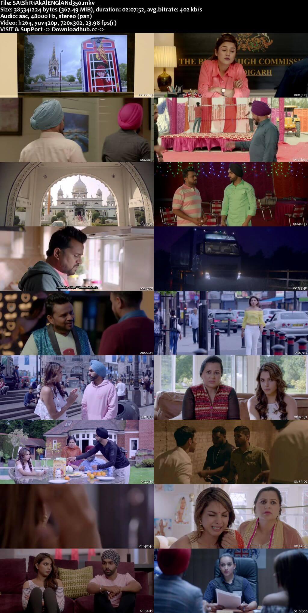 Sat Shri Akaal England 2017 Punjabi 480p HDRip ESubs