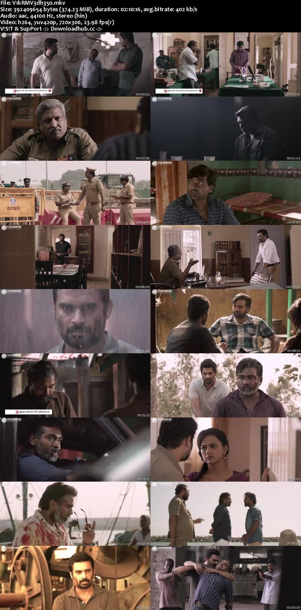 Vikram Vedha 2018 Hindi Dubbed 480p HDRip