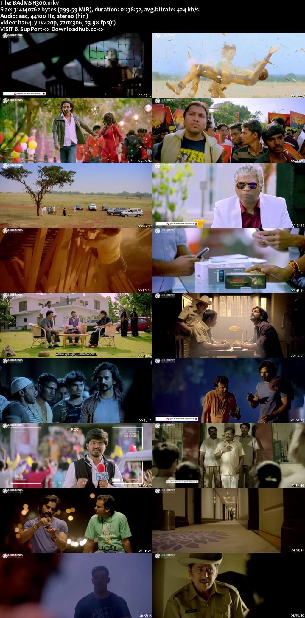 Badmaash 2018 Hindi Dubbed 480p HDRip