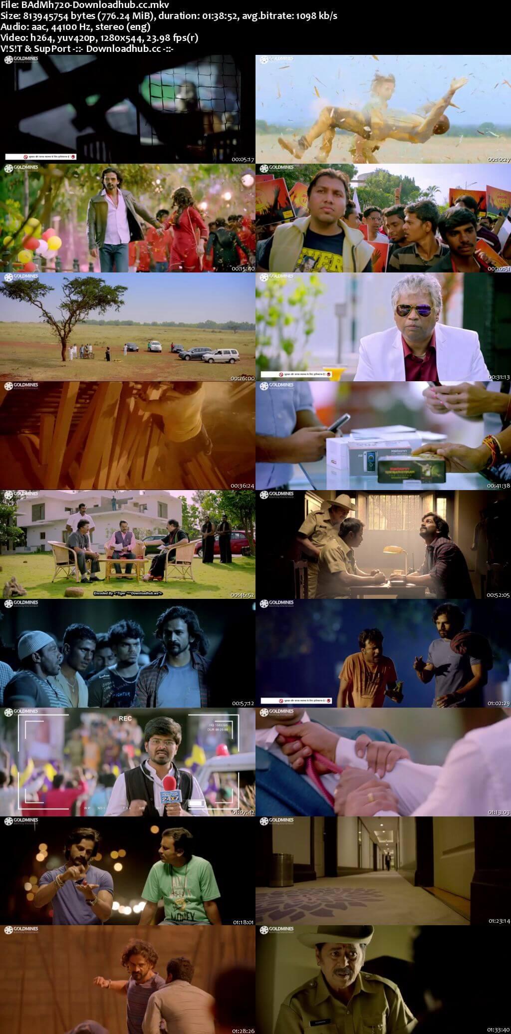 Badmaash 2018 Hindi Dubbed 720p HDRip