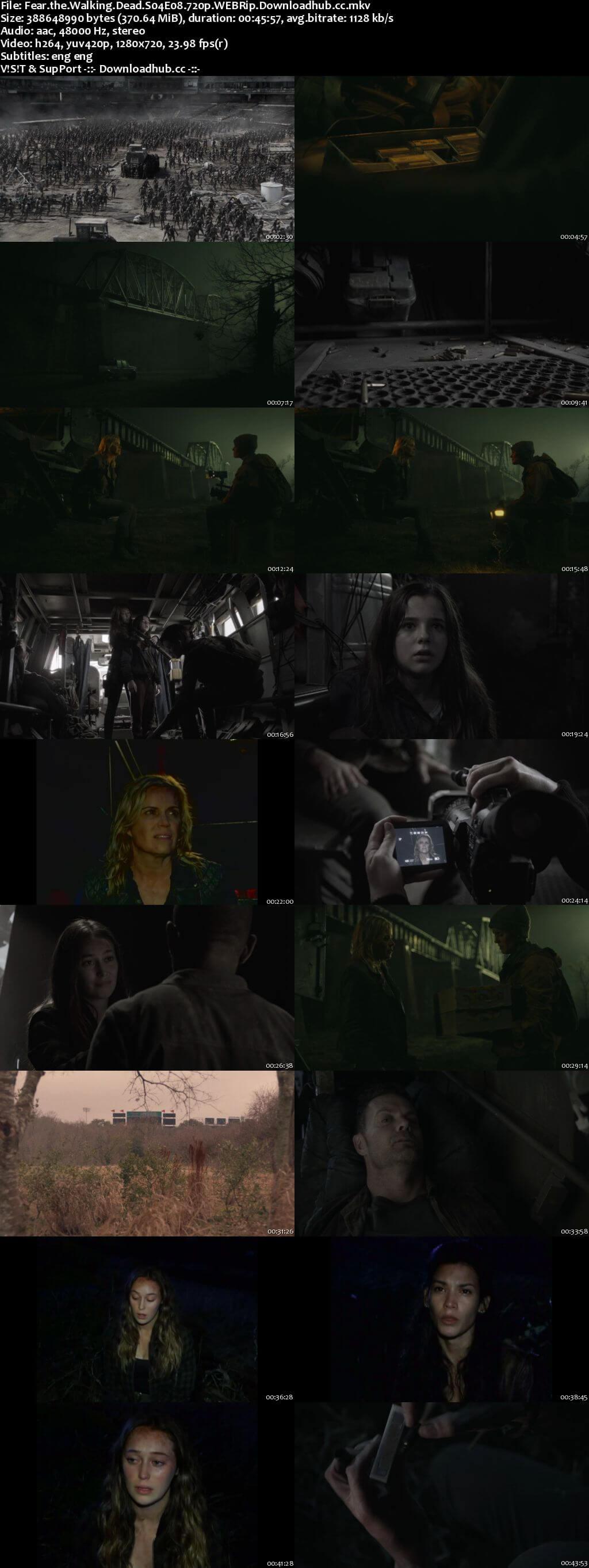 Fear the Walking Dead S04E08 350MB WEBRip 720p x264 ESubs