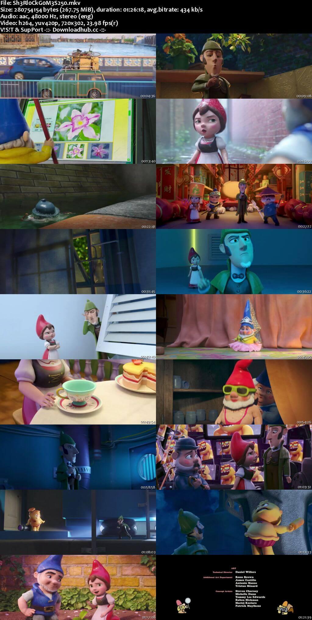 Sherlock Gnomes 2018 English 480p BRRip ESubs