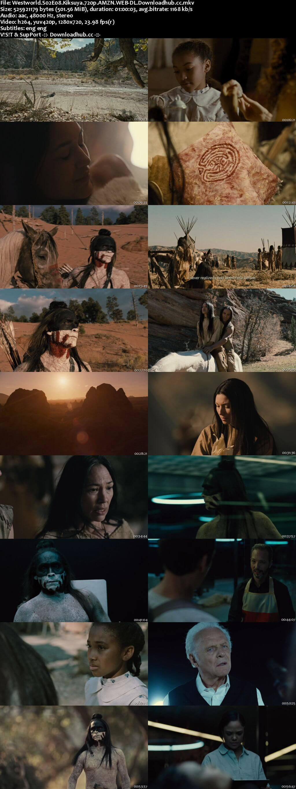 Westworld S02E08 500MB WEB-DL 720p x264 ESubs