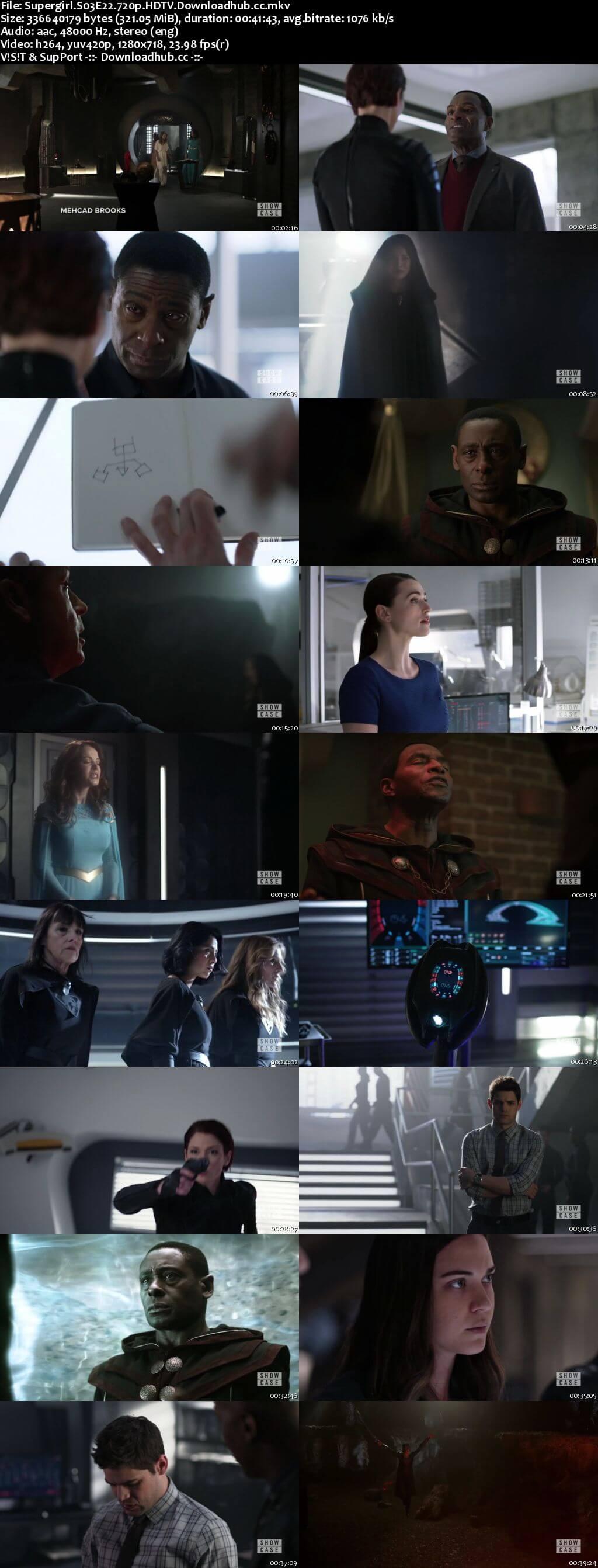 Supergirl S03E22 320MB HDTV 720p x264
