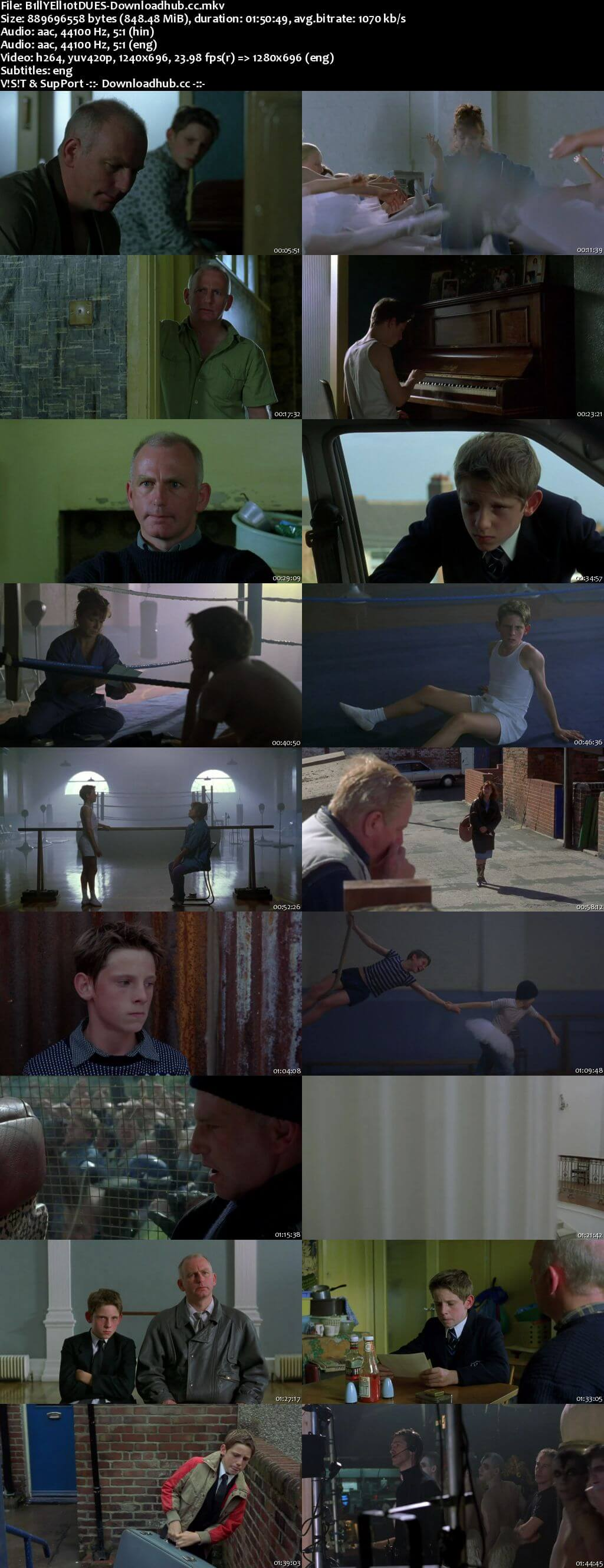 Billy Elliot 2000 Hindi Dual Audio 720p BluRay Free Download