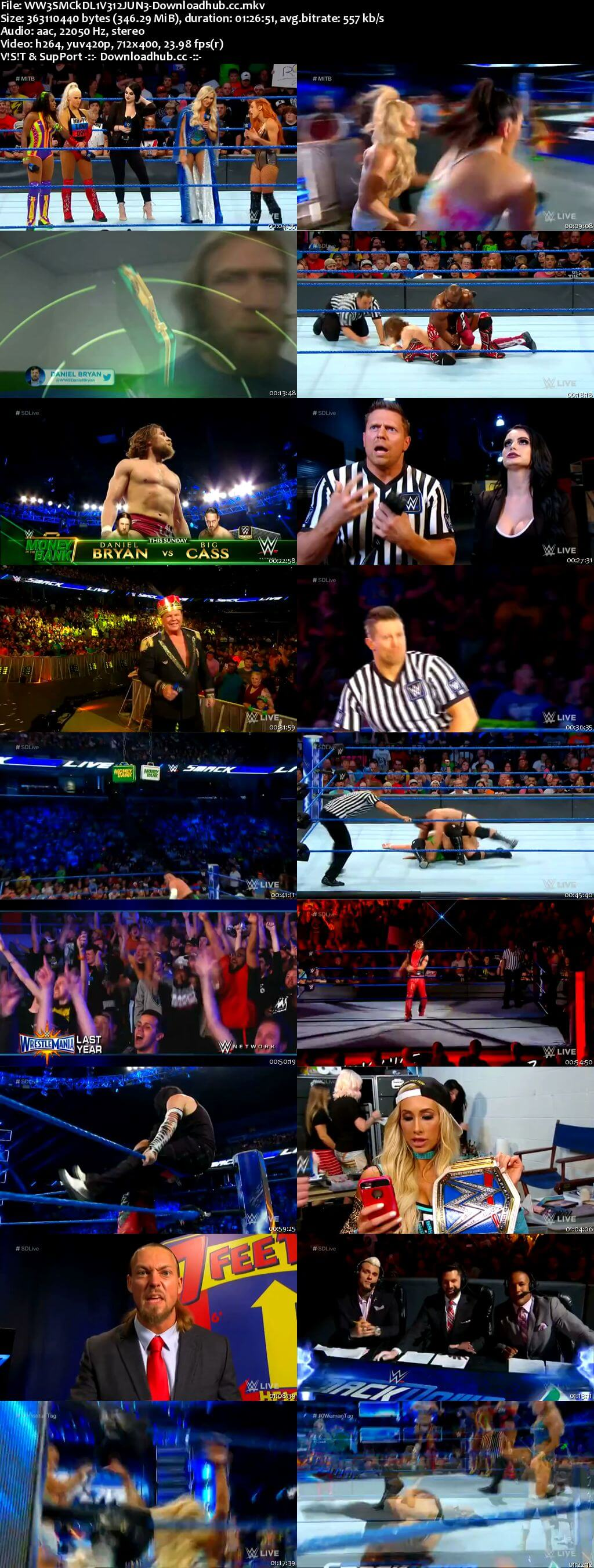 WWE Smackdown Live 12 June 2018 480p HDTV Download