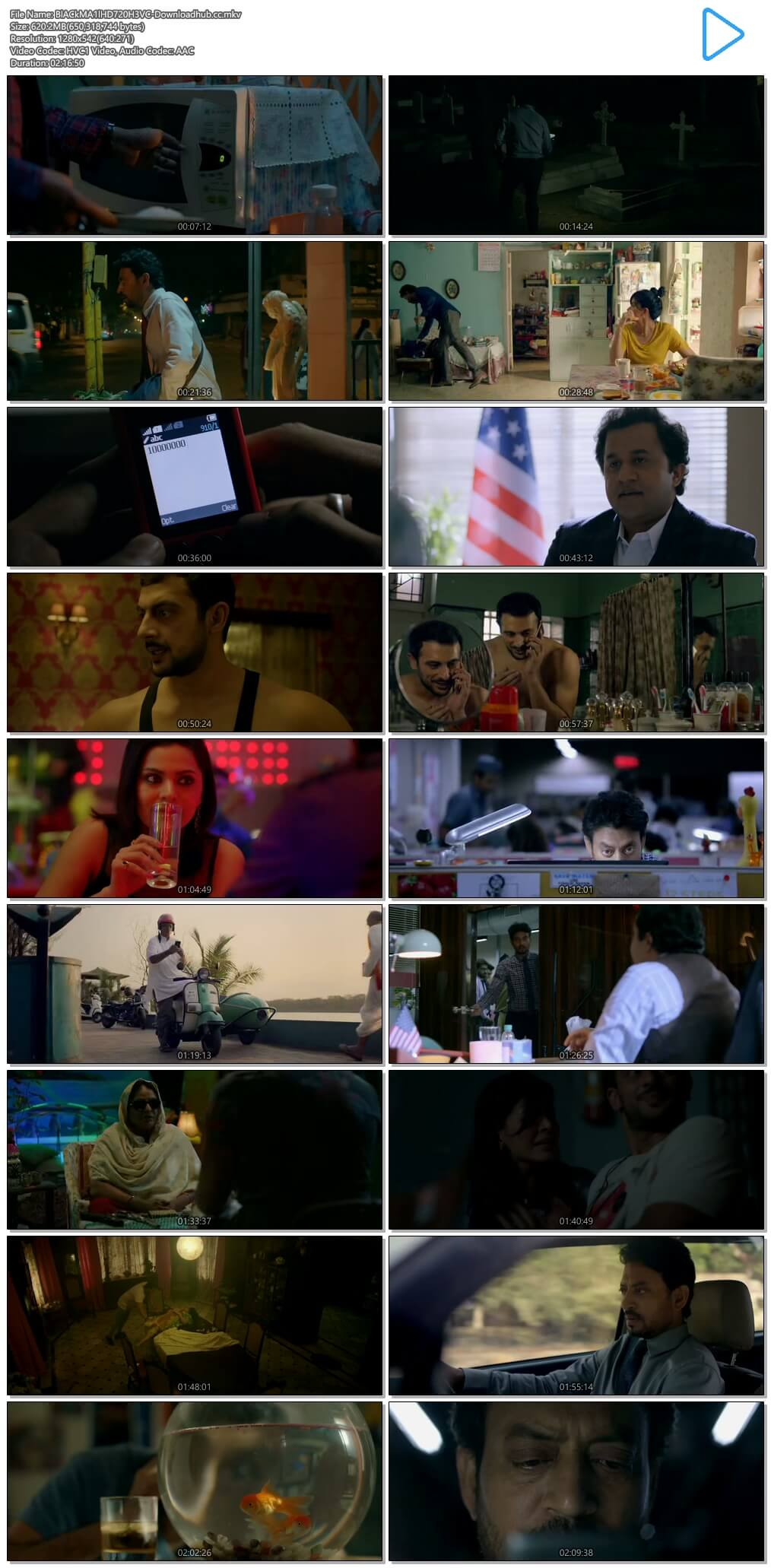 Blackmail 2018 Hindi 720p HEVC HDRip