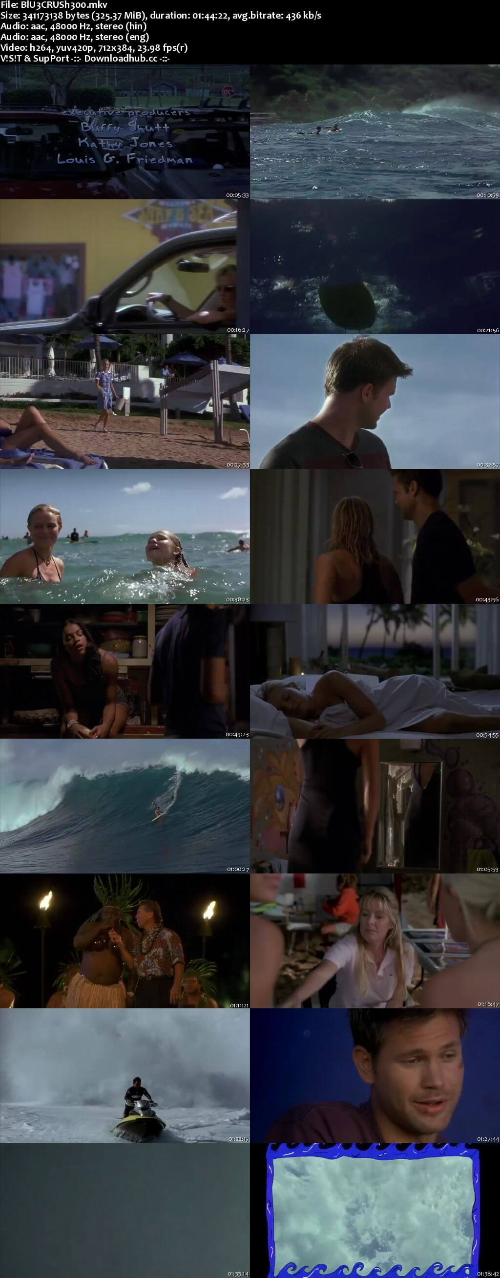 Blue Crush 2002 Hindi Dual Audio 480p BluRay Free Download