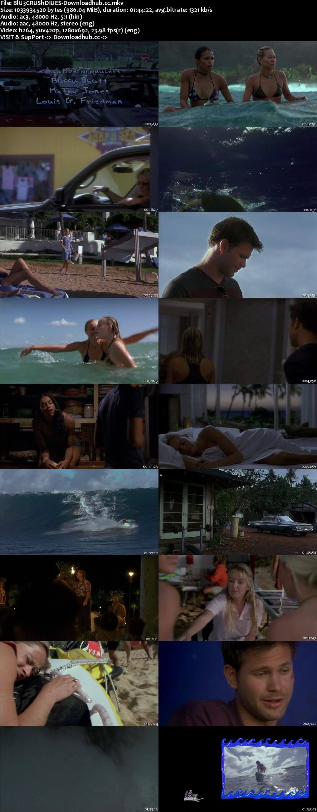 Blue Crush 2002 Hindi Dual Audio 720p BluRay Free Download