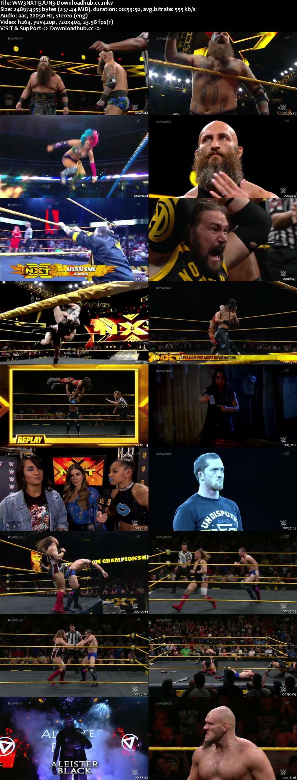 WWE NXT 13 June 2018 480p HDTV Download