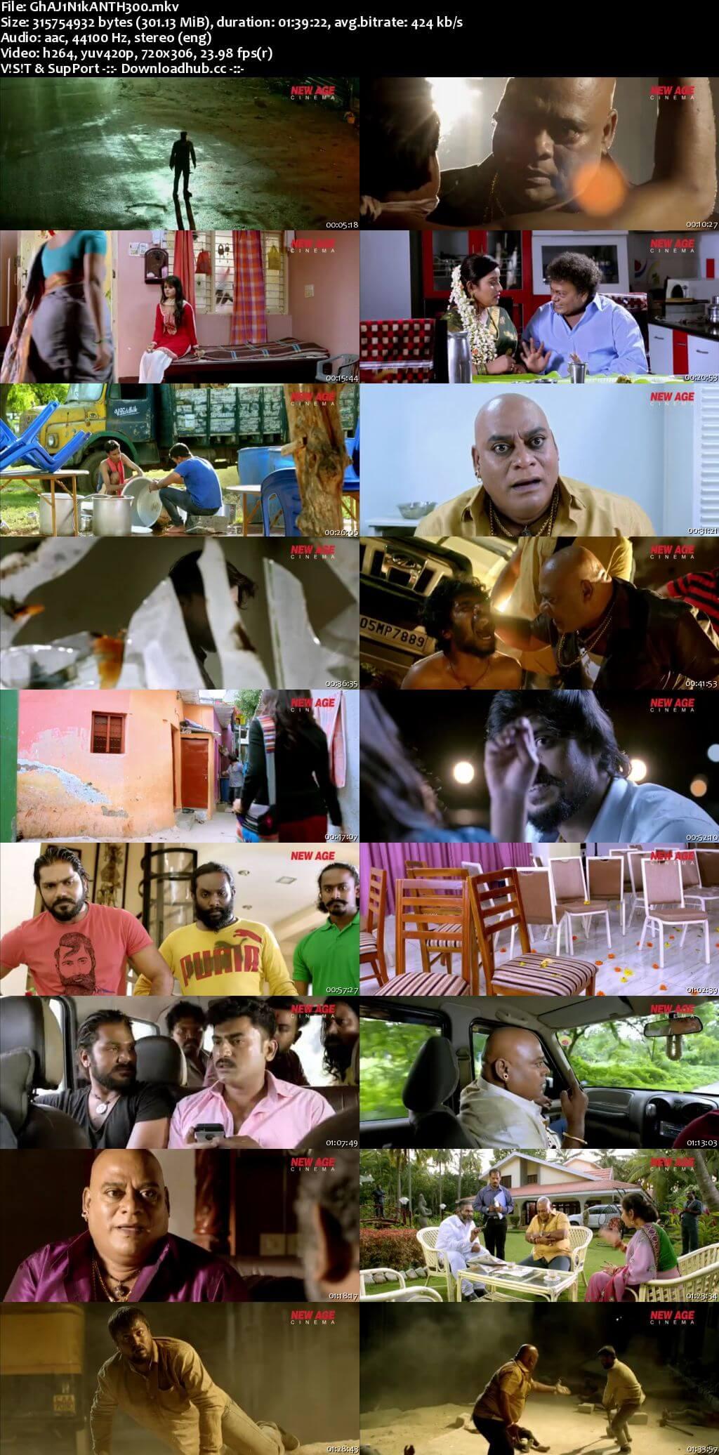 Ghajinikanth 2018 Hindi Dubbed 480p HDRip