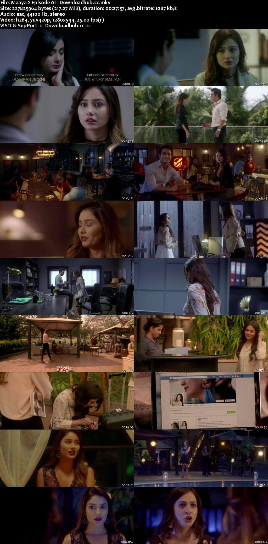 Maaya 02 Hindi Season 2 Complete 720p HDRip x264