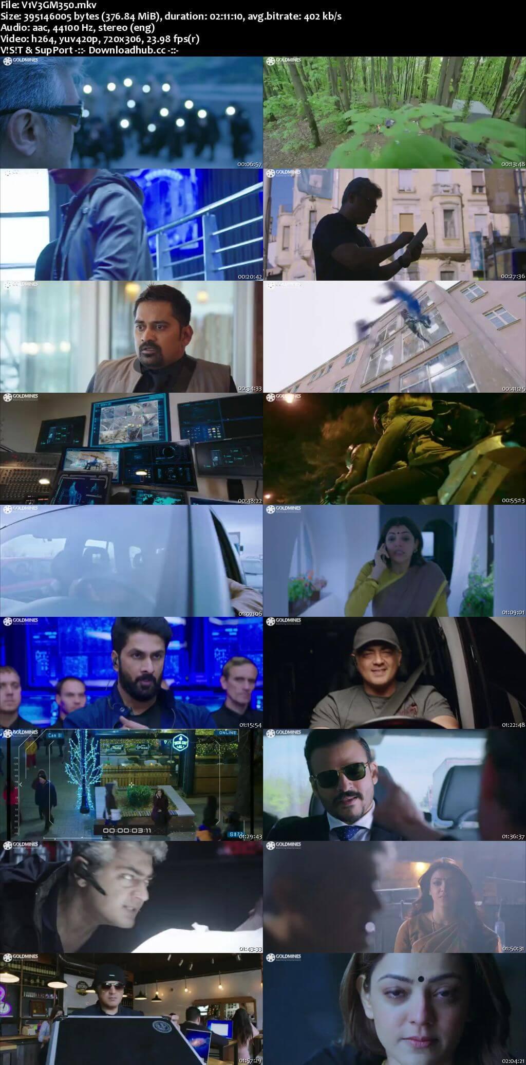 Vivegam 2018 Hindi Dubbed 480p HDRip