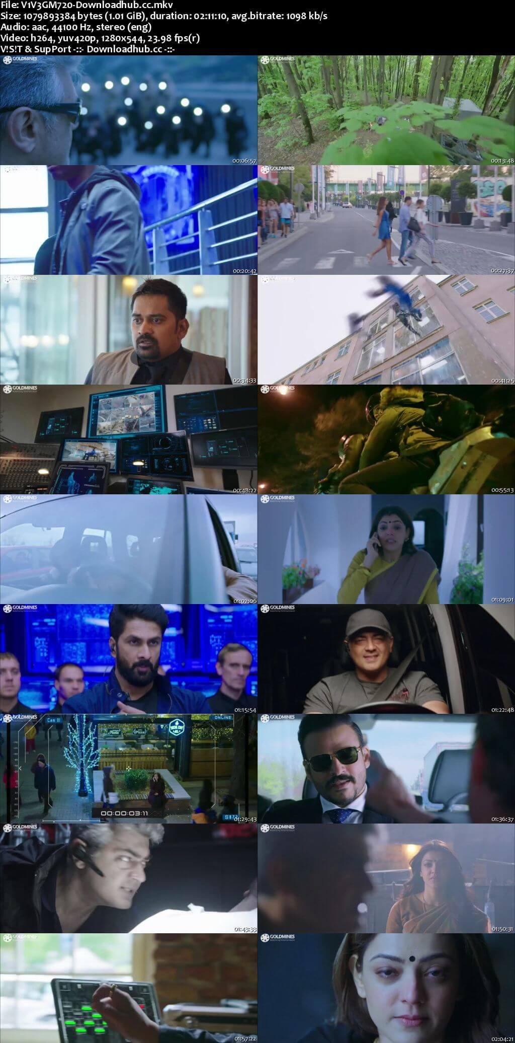 Vivegam 2018 Hindi Dubbed 720p HDRip
