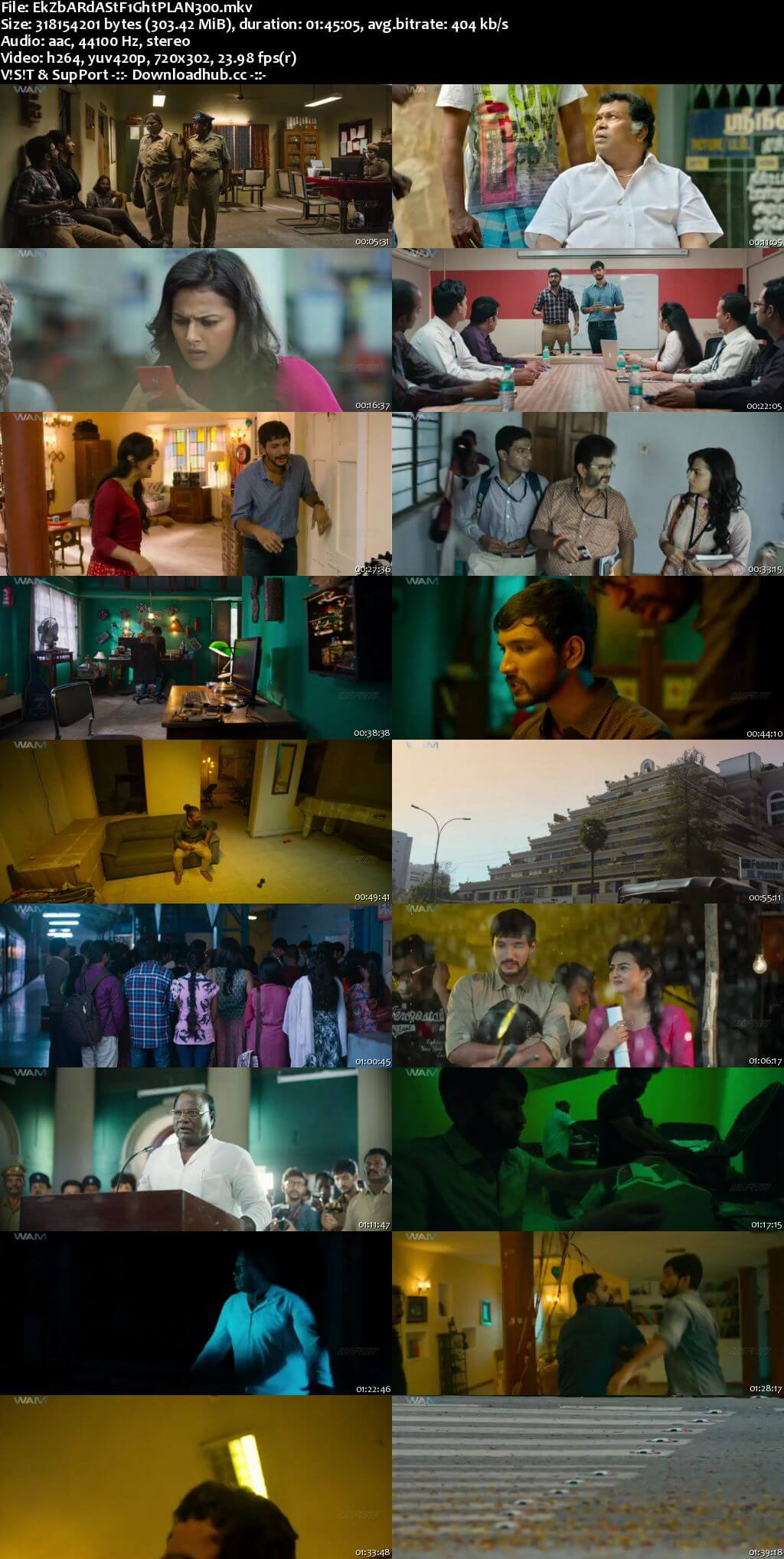 Ek Zabardast Fight Plan 2018 Hindi Dubbed 480p HDRip
