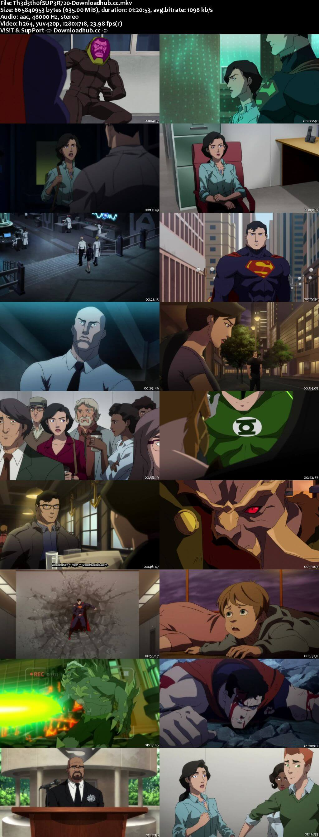 The Death of Superman 2018 English 720p Web-DL 600MB