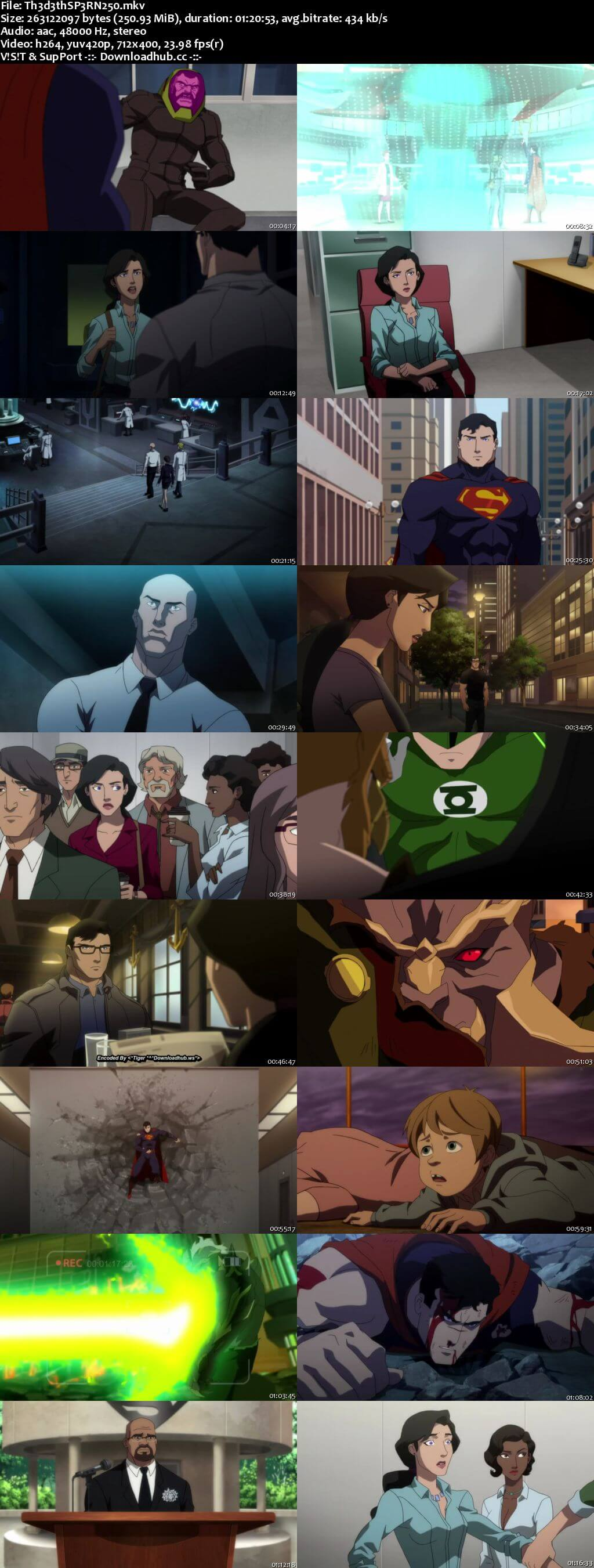 The Death of Superman 2018 English 480p Web-DL