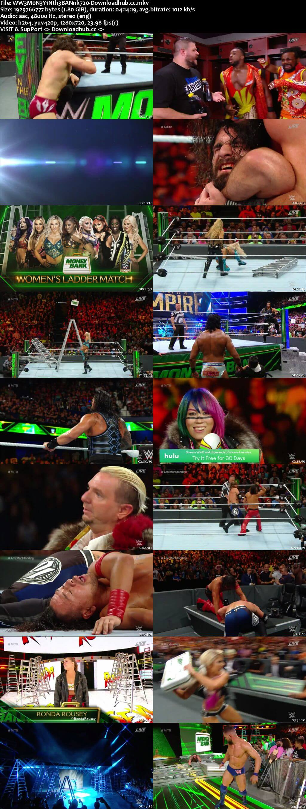 WWE Money In The Bank 17th June 2018 720p PPV WEBRip