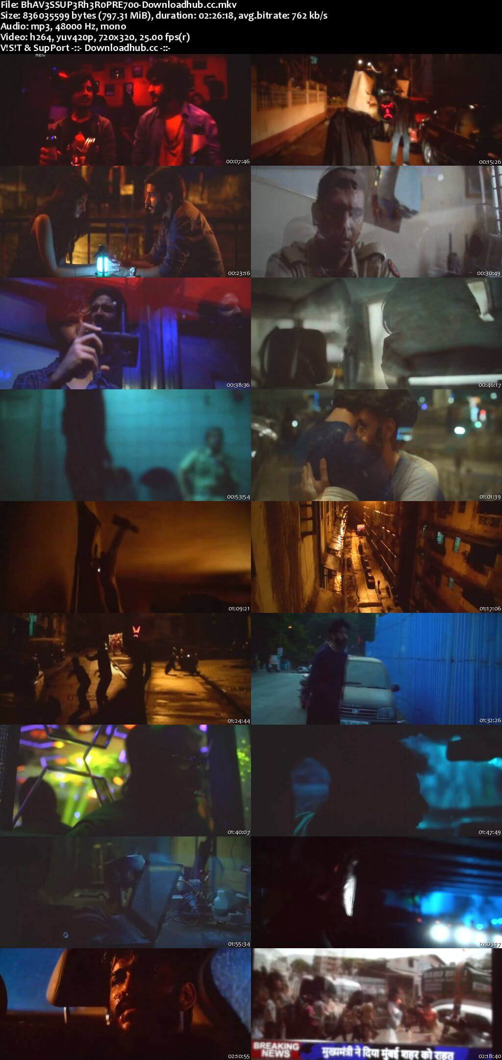 Bhavesh Joshi Superhero 2018 Hindi 800MB Pre-DVDRip x264