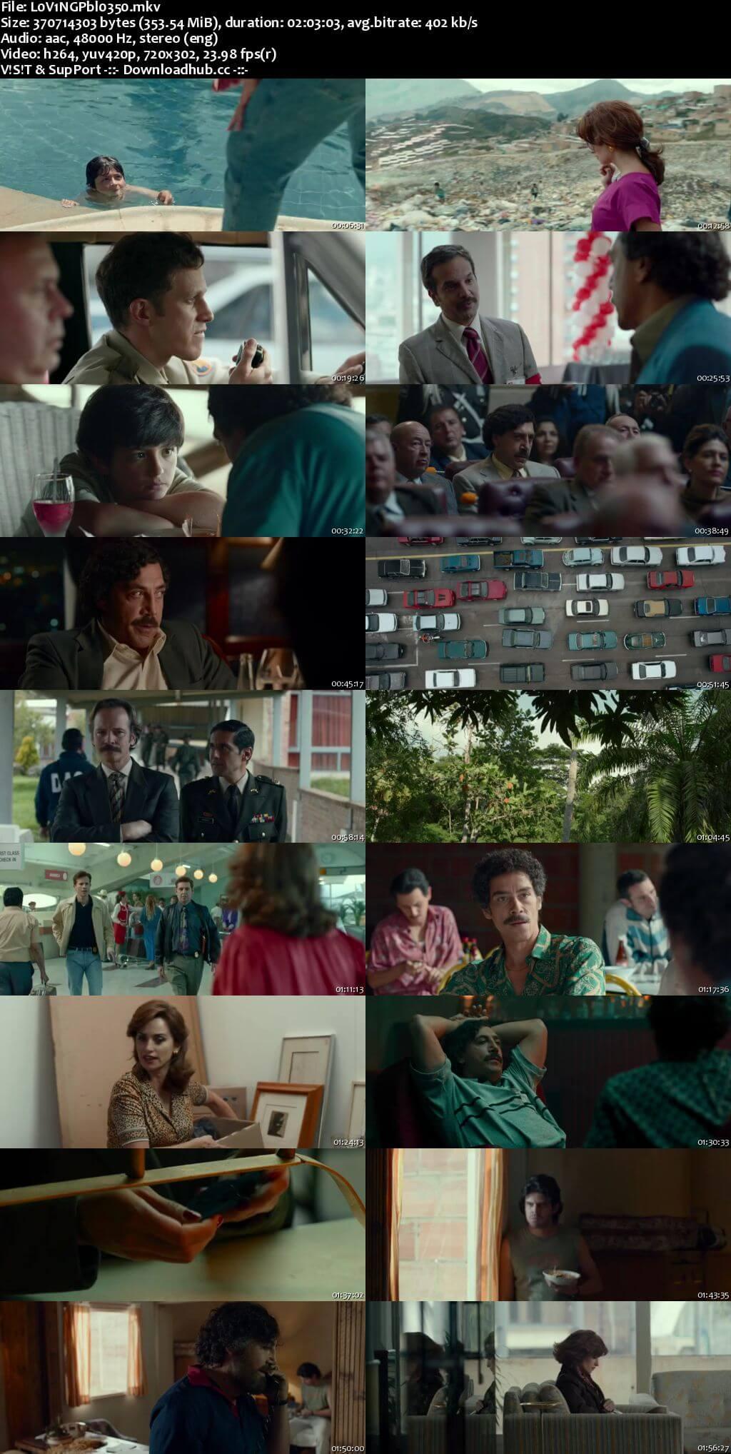 Loving Pablo 2018 English 480p Web-DL