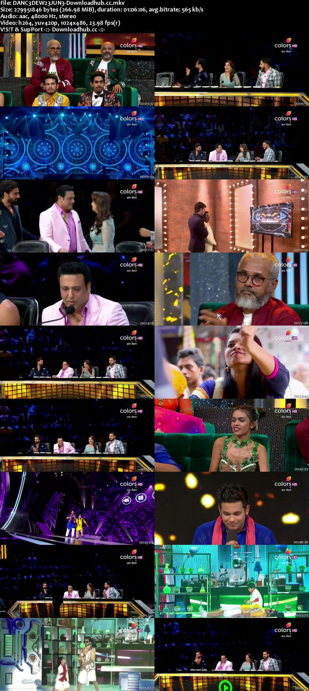 Dance Deewane 23 June 2018 Episode 07 HDTV 480p