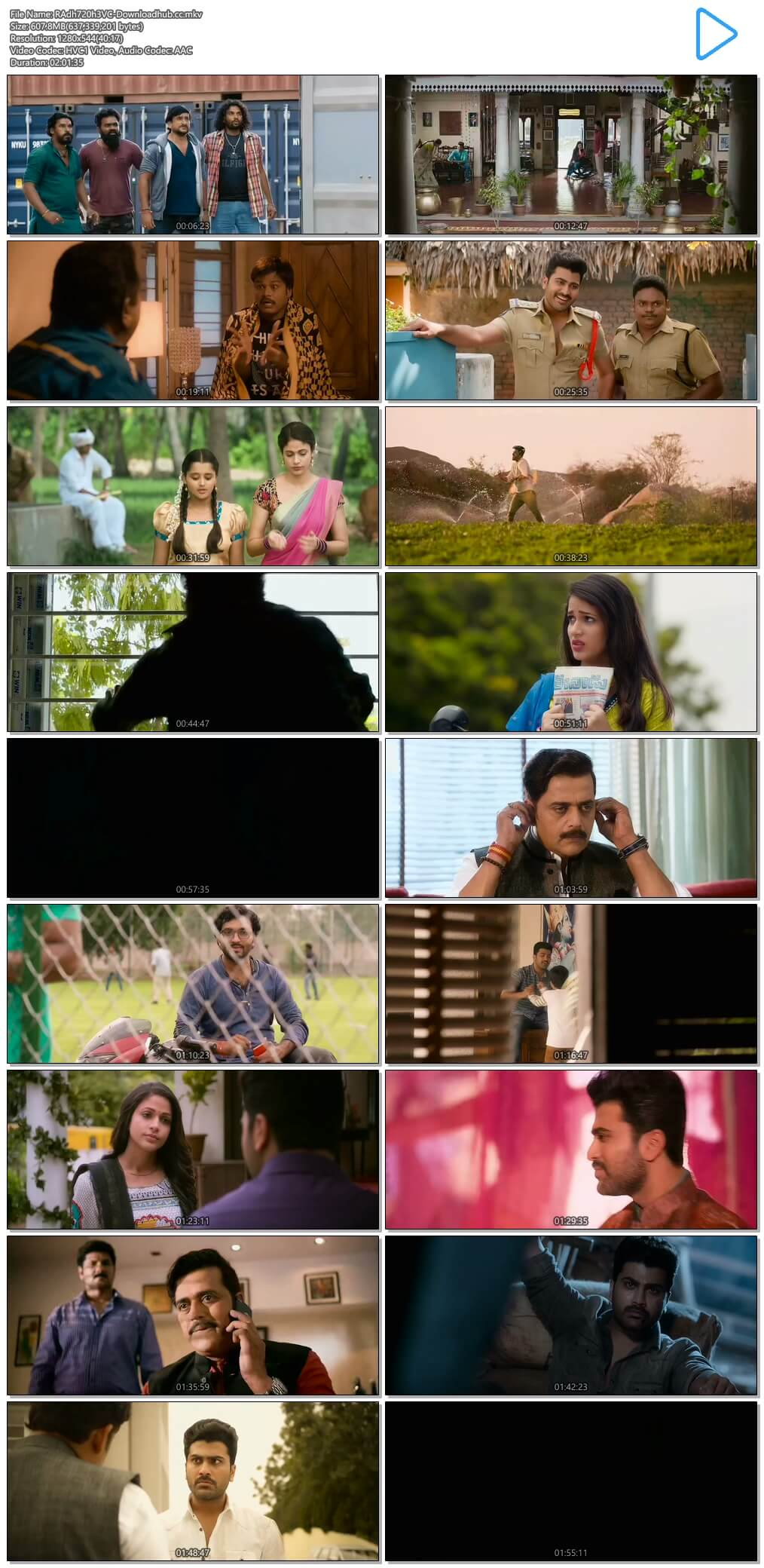 Mosagallaku Mosagadu 2015 UNCUT Hindi Dual Audio 720p HEVC HDRip Free Download