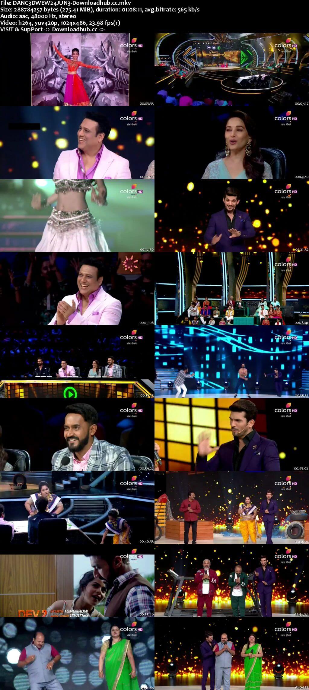 Dance Deewane 24 June 2018 Episode 08 HDTV 480p