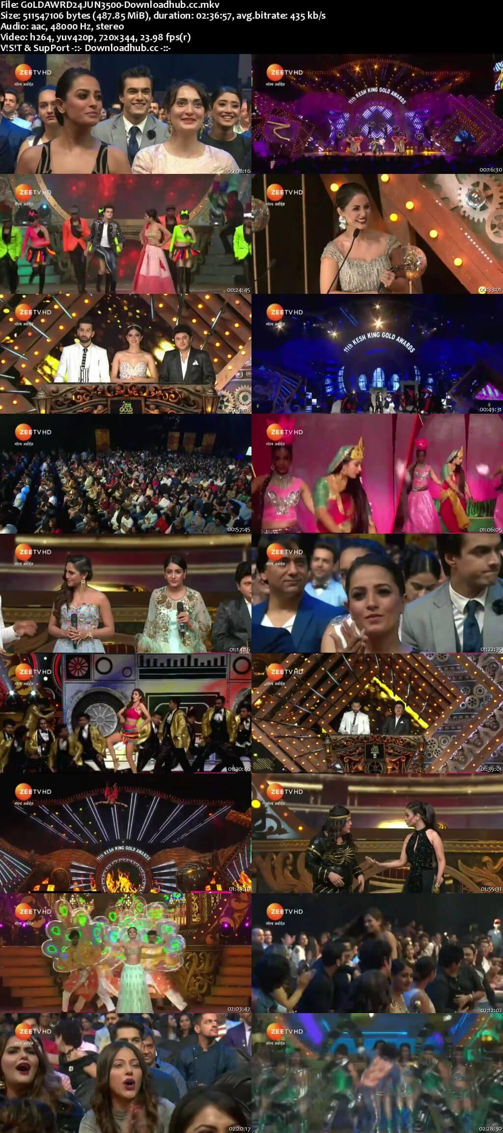 Gold Award 24th June 2018 480p HDTV