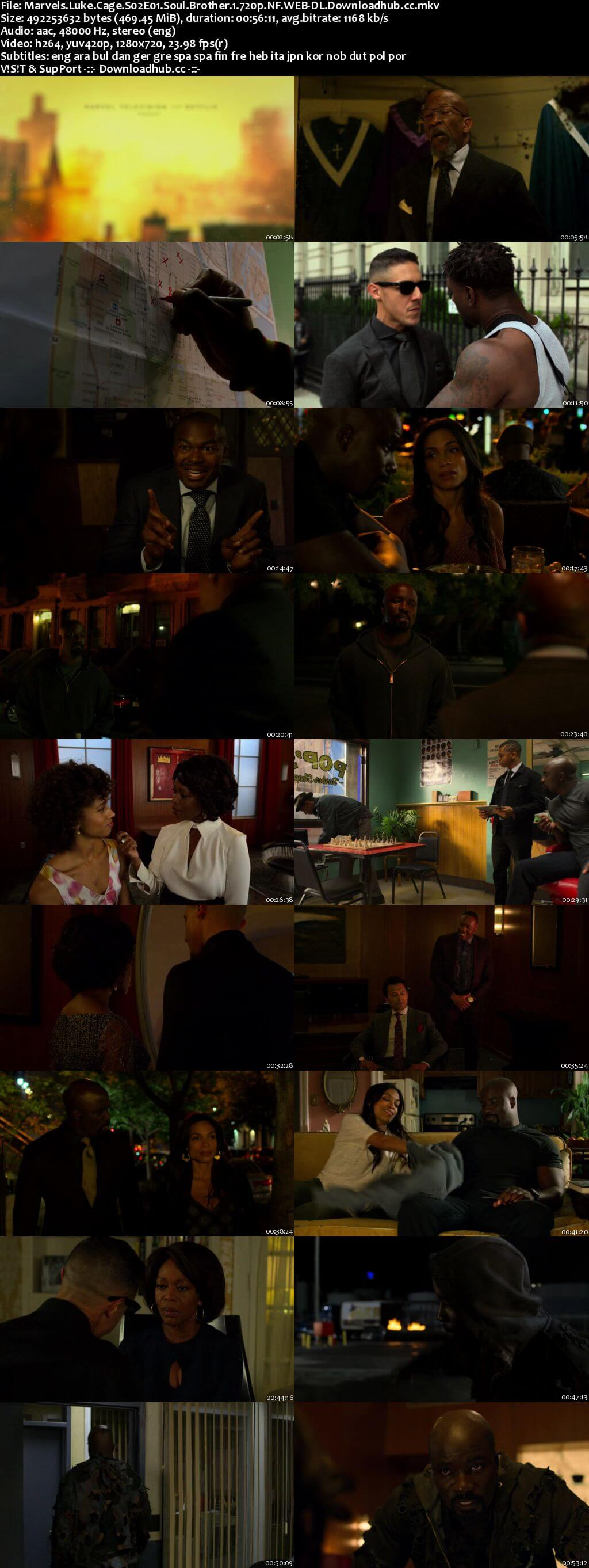 Luke Cage S02 Complete 720p WEBRip MSubs