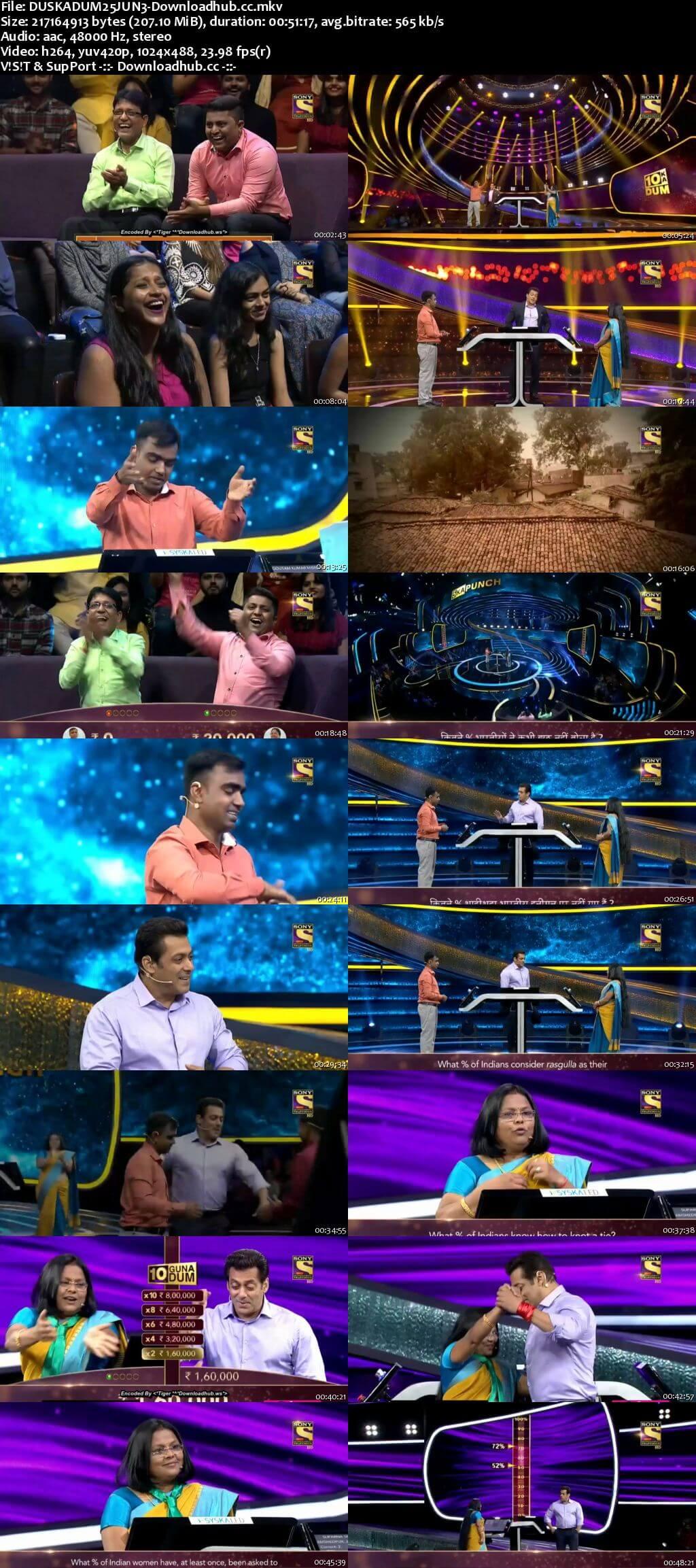 Dus Ka Dum 25 June 2018 Episode 07 HDTV 480p