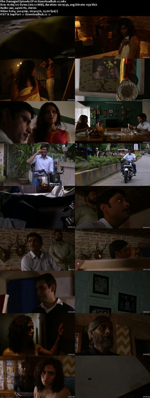 Damaged 2018 Hindi Season 01 Complete 720p HDRip x264