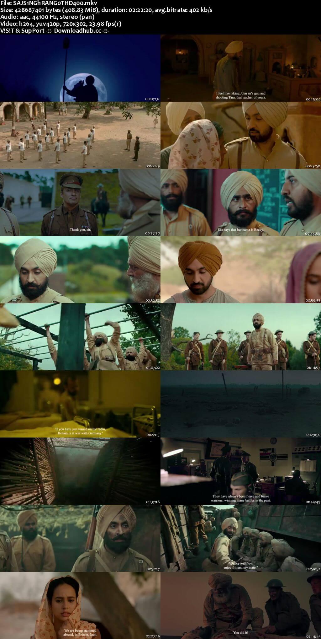 Sajjan Singh Rangroot 2018 Punjabi 480p HDRip HC ESubs