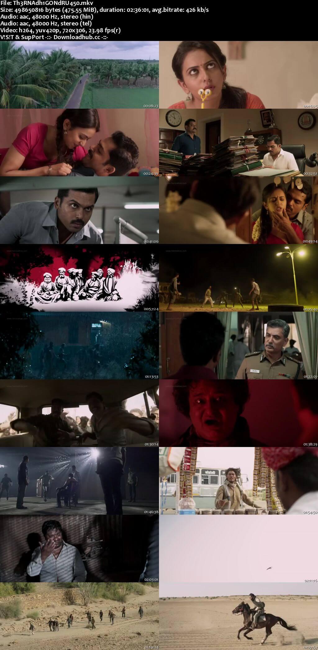 Theeran Adhigaaram Ondru 2017 UNCUT Hindi Dual Audio 480p HDRip Free Download