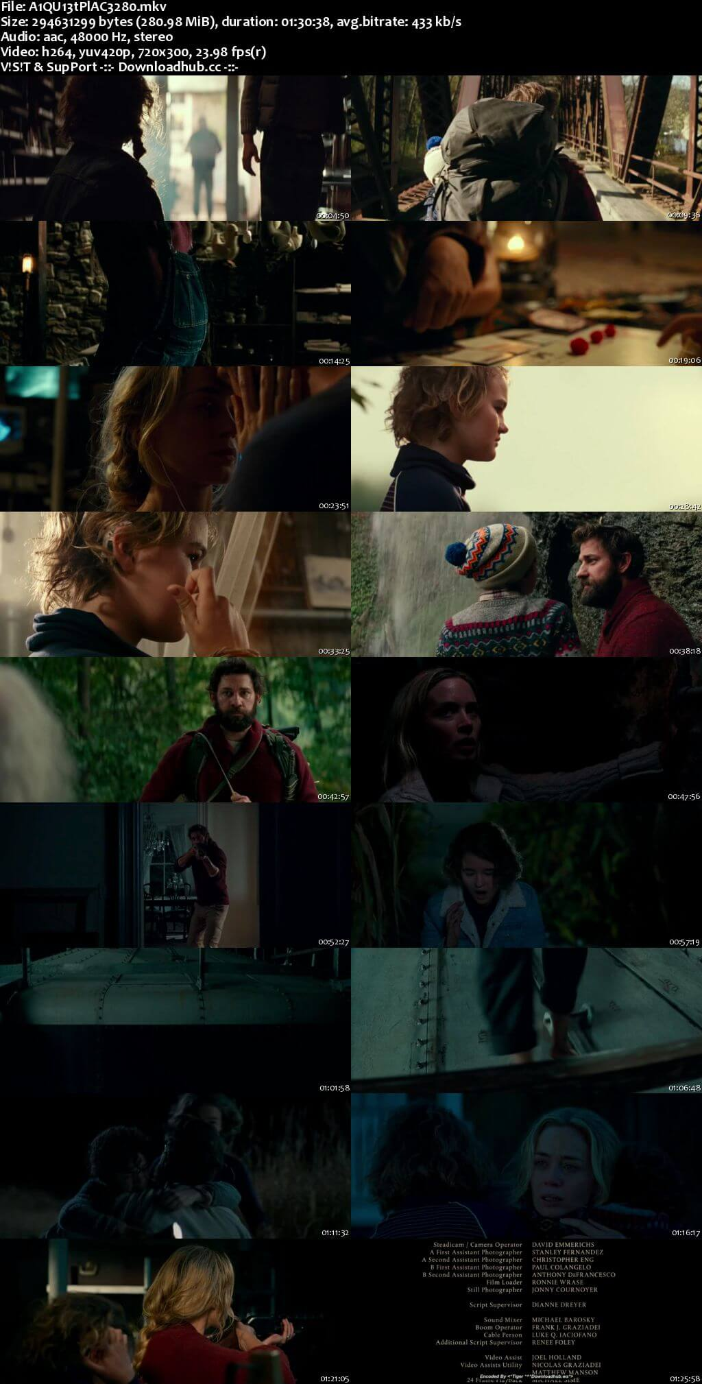 A Quiet Place 2018 English 480p Web-DL ESubs