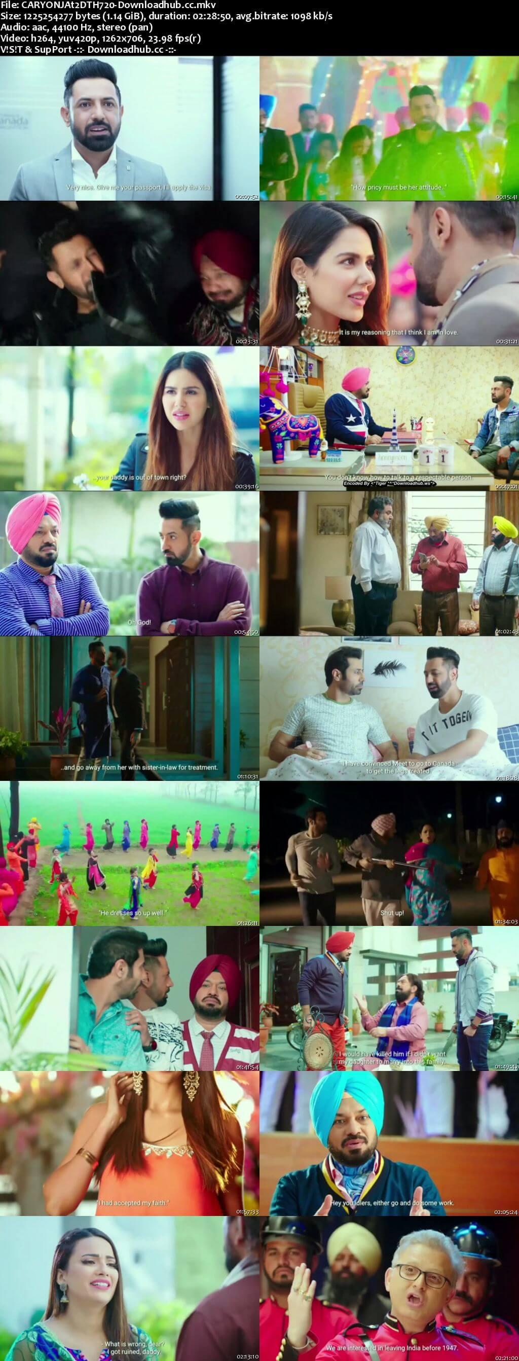 Carry on Jatta 2 2018 Punjabi 720p DTHRip HC ESubs