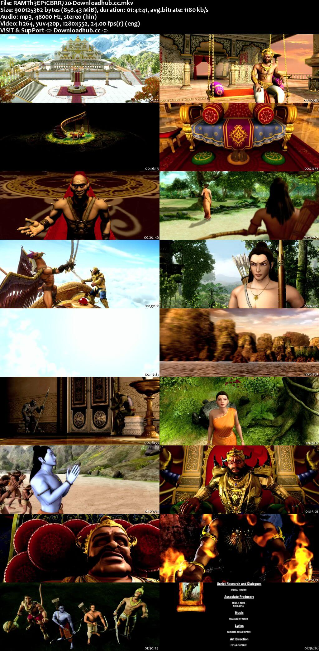 Ramayana The Epic 2010 Hindi 720p BluRay ESubs
