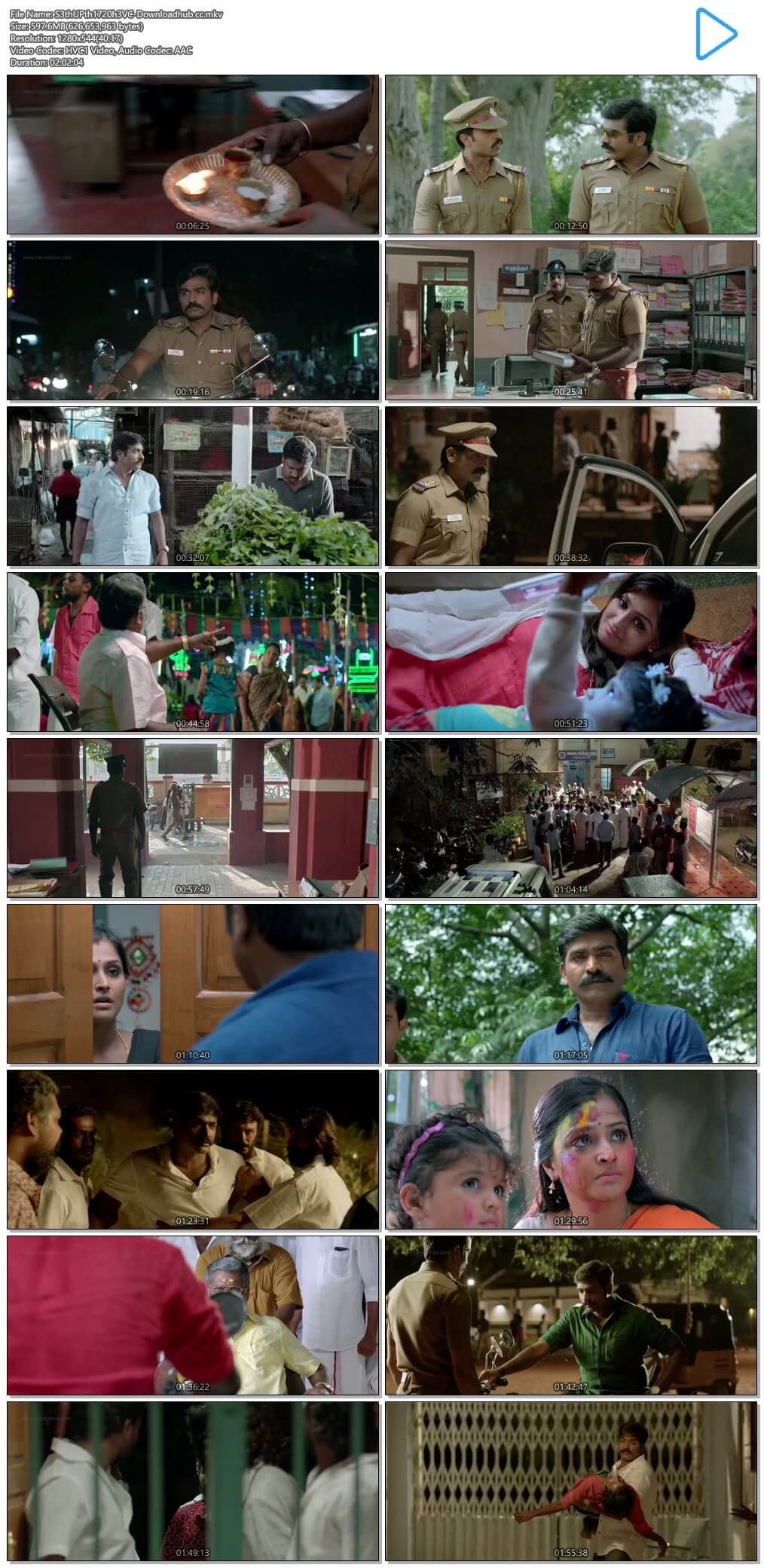 Sethupathi 2016 Hindi Dual Audio 600MB UNCUT HDRip 720p ESubs HEVC