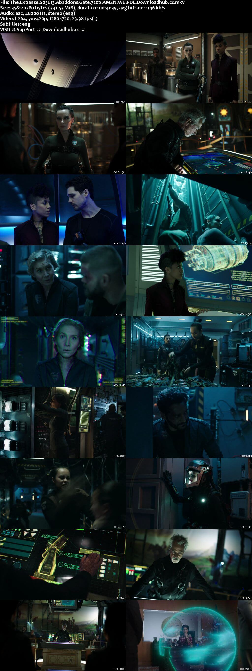 The Expanse S03E13 340MB WEBRip 720p x264 ESubs