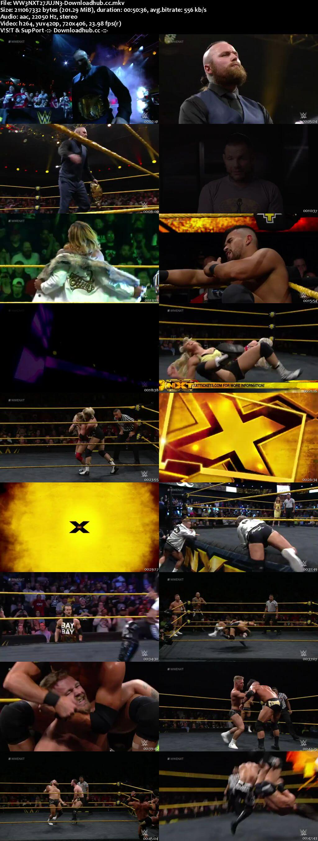 WWE NXT 27 June 2018 480p HDTV Download