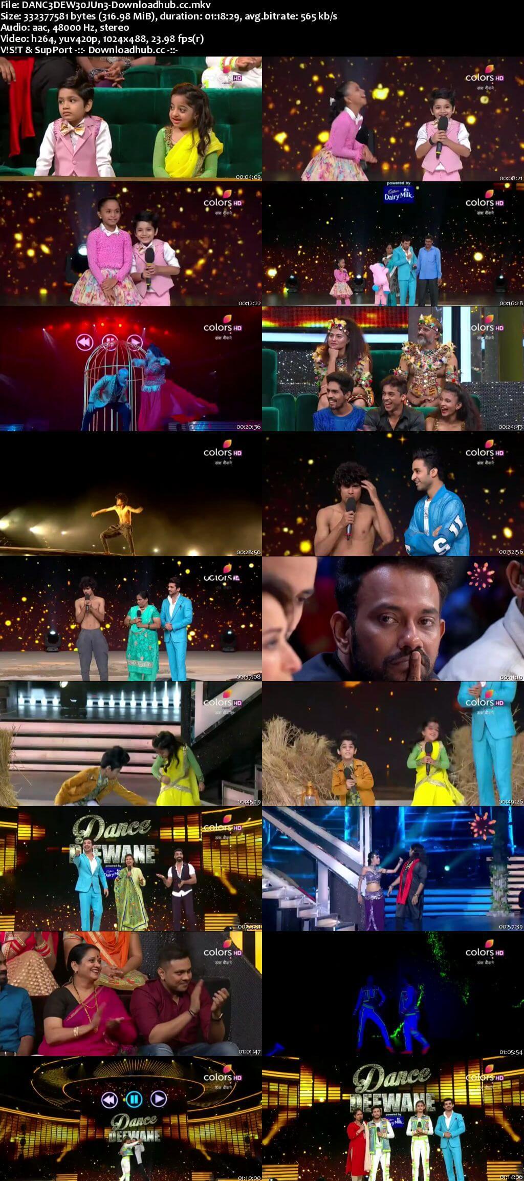 Dance Deewane 30 June 2018 Episode 09 HDTV 480p