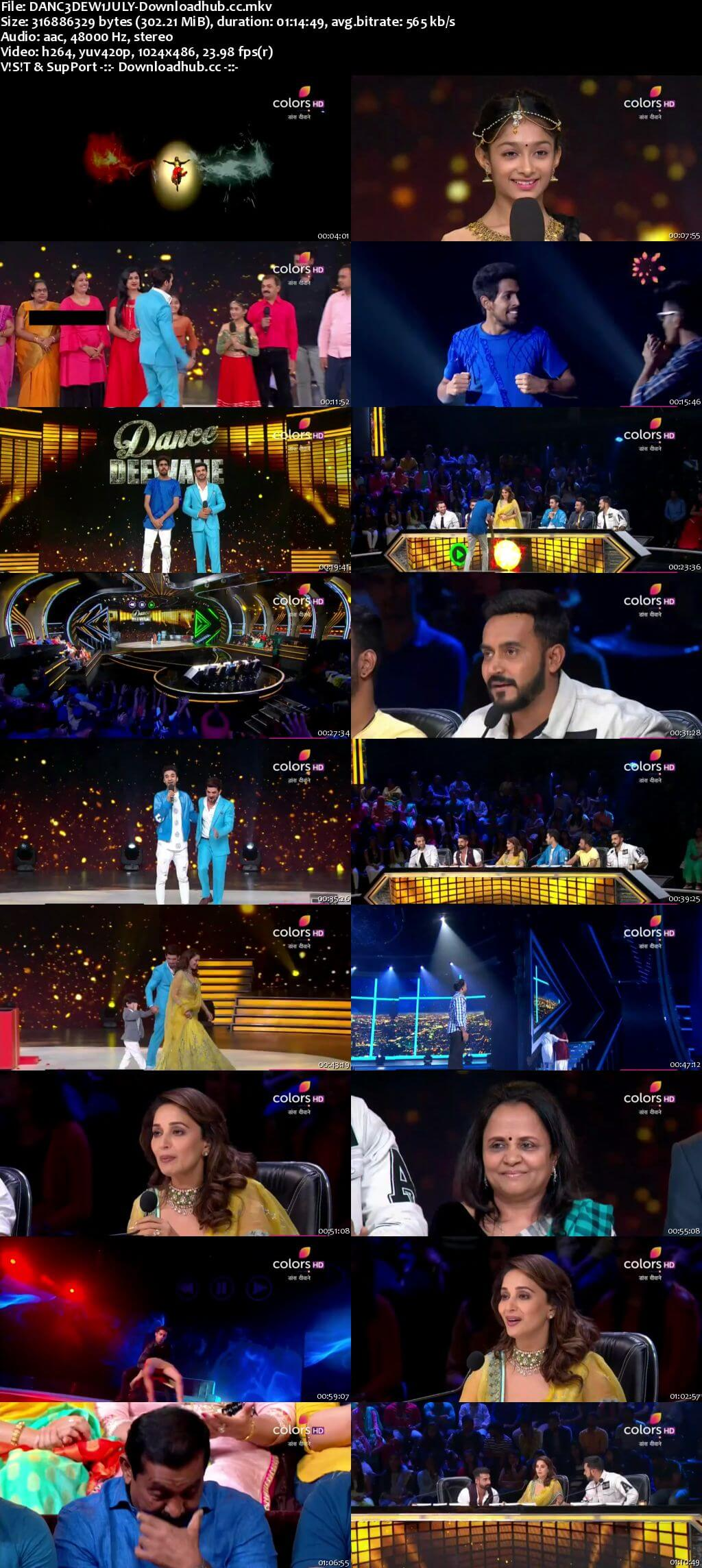Dance Deewane 01 July 2018 Episode 10 HDTV 480p