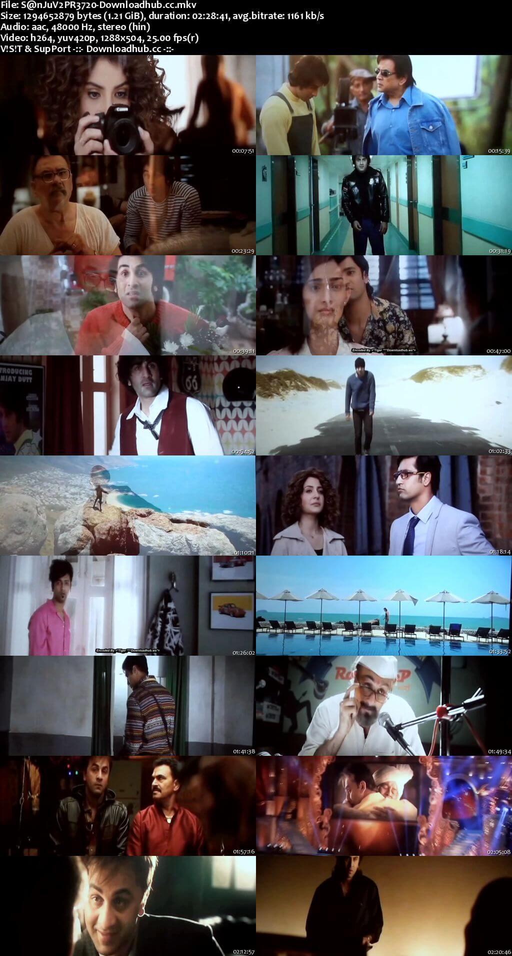Sanju 2018 Hindi 720p V2 Pre-DVDRip x264