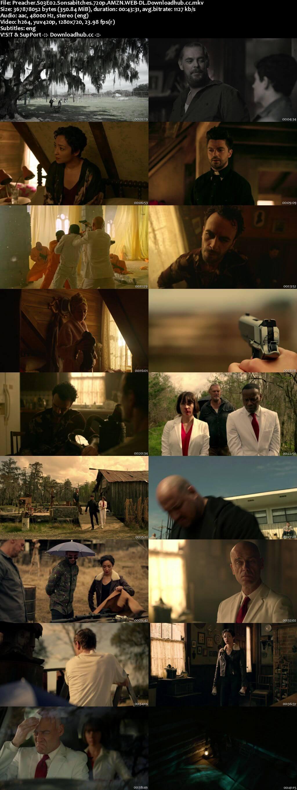 Preacher S03E02 350MB WEB-DL 720p x264 ESubs