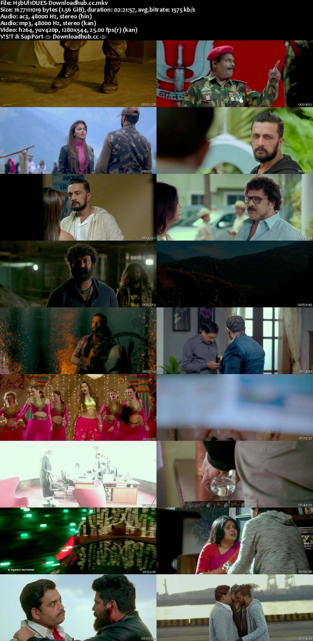Hebbuli 2017 Dual Audio 720p UNCUT HDRip [Hindi - Kannada]